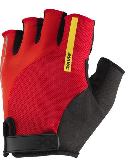 Mavic Ksyrium Elite Bike Gloves Men red/black